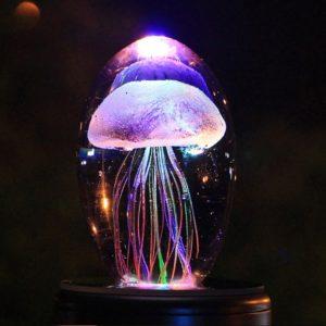 Dětská noční lampa s medúzou