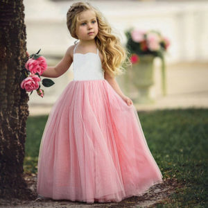 Dívčí dlouhé šaty Maybelle