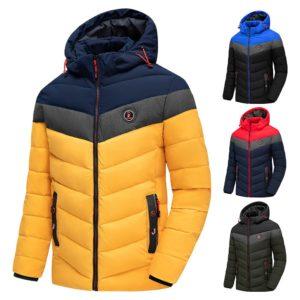 Men 2020 Winter Brand New Casual Warm Thick Waterproof Jacket Parkas Coat Men Autumn Outwear Windproof Hat Parkas Jacket Men