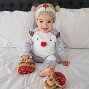 Dětský vánoční set / Tričko, tepláky