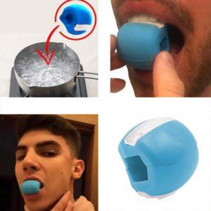 1Pcs Food-grade Silica Exercise Ball Facial Muscle Trainin Fitness Ball Neck Face Toning Muscle Trainin
