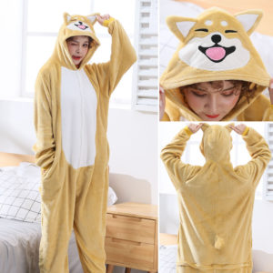 Rozomilé pyžamo Kigurumi pes