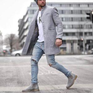 Pánský kabát Isadore