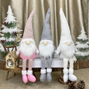Christmas Faceless Doll Merry Christmas Decorations For Home Ornament Xmas Happy New Year Noel Navidad Gift Garland
