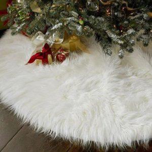 Chlupatý kobereček pod Vánoční stromek