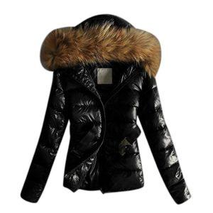 Dámská zimní bunda s kožešinou Lilah