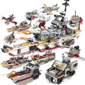 Dětská velká stavebnice - Bitevní loď