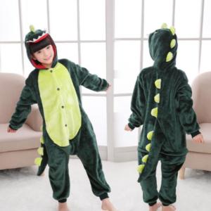 Dětské zvířecí pyžamo dinosaurus