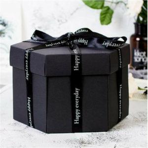 Dárková krabička s překvapením uvnitř - Vytvořte krásné překvapení s fotkami