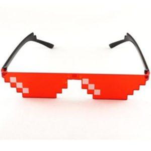 Mozaikové sluneční unisex brýle Pixel