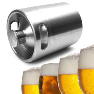 Nerezový sud na vaření piva a vína