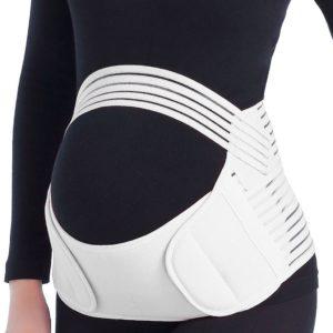 Těhotenský podpůrný pás přes bříško