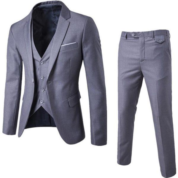 Pánský elegantní třídílný oblek Fonteyne