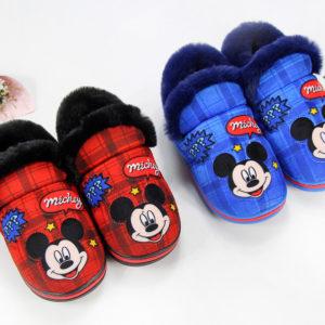 Hřejivé dětské boty Disney - Mickey Mouse