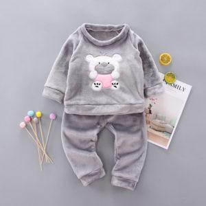 Dětské zimní pyžamo