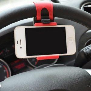 Mobilní držák na telefon do auta - na volant