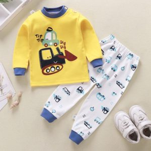 Dětský roztomilý 2 dílný set oblečení