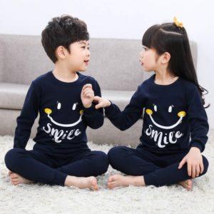 Roztomilé dětské pyžamo se smajlíkem
