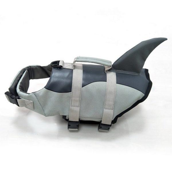 Plovací vesta pro psy - žralok/mořská panna