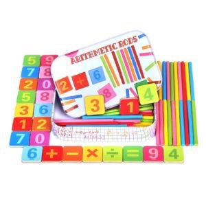 Matematika hrou pro malé školáky - škola hrou - dřevěná hra