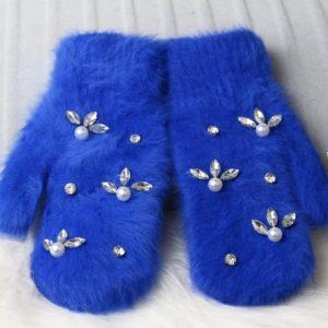 Dámské pletené zimní rukavice Neville