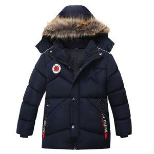 Dětská dlouhá prošívaná zimní bunda DesignStar
