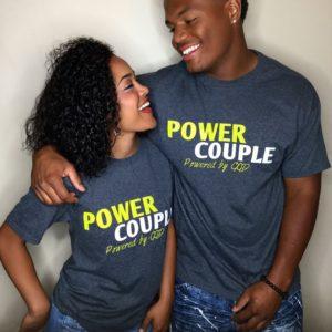 Párové trička Power Couple