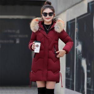 Dámský trendy zimní kabát Merla