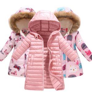 Stylové zimní dětské bundy