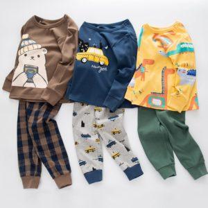 Bavlněné dětské pyžamo