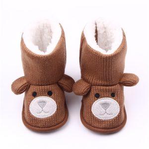 Dětské zimní botičky s medvídkem