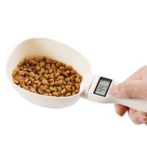 Odměrná lžíce na zvířecí krmivo