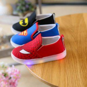 Dětské boty - superhrdinové