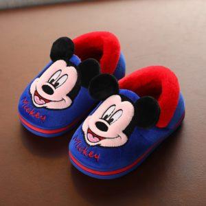 Domácí dětské boty Disney