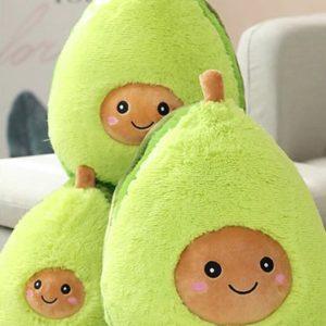 Plyšové roztomilé avokádo v 3 velikostech