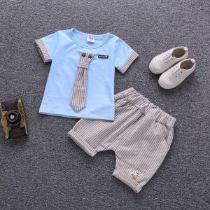 Chlapecká cool letní souprava – tričko a kraťasy