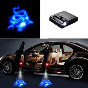 Automobilové dveřní stínové LED světlo bezdrátové