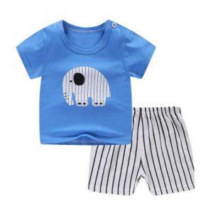 Letní dětská volnočasová souprava trička a šortek