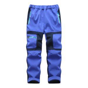 Dětské teplé sportovní kalhoty