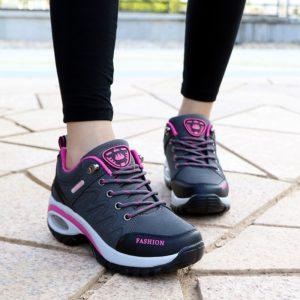 Dámské prodyšné atletické běžecké boty se vzduchovým polštářkem