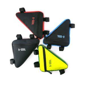 Trojúhelníkový úložný turistický batoh pro cyklisty - různé barvy