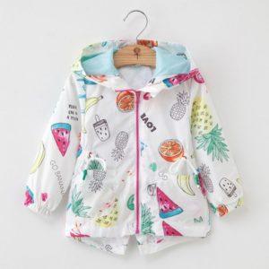 Dívčí softshellová roztomilá bunda