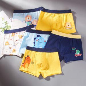 Chlapecké bavlněné boxerky s různými motivy