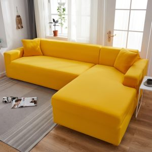 Stretchové elastické potahy na gauč Corner
