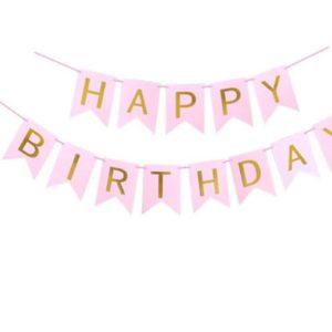 Roztomilé závěsné banery na oslavu narozenin