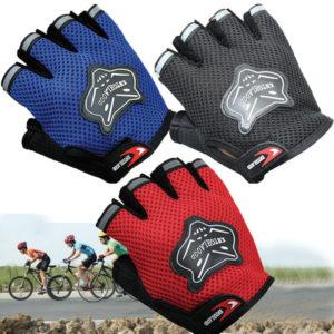 Dětské cyklistické síťové rukavice
