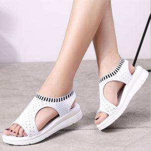 Dámské moderní sandály na platformě