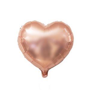 Rose Gold sada nafukovacích balónků ve tvarech