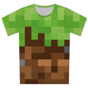 Dětské barevné geometrické tričko