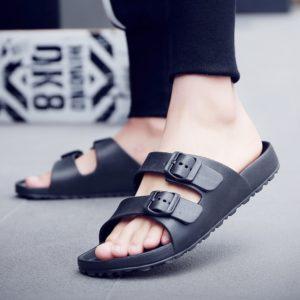 Jednoduché pánské letní sandály